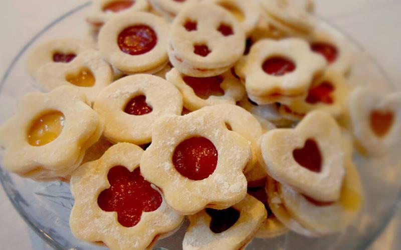 LINZERI: Fini kolačići od prhkog tijesta, dekorativni mirisni, ukusni...