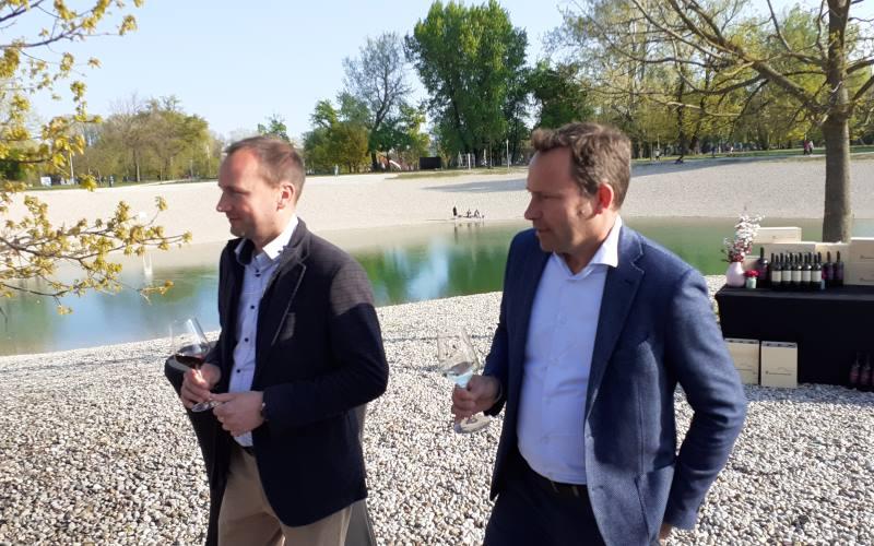 Složna braća Nikola i Albert, koji stoje iza nagrađivanih vina Benvenuti iz Istre, na Bundeku predstavili nova vina