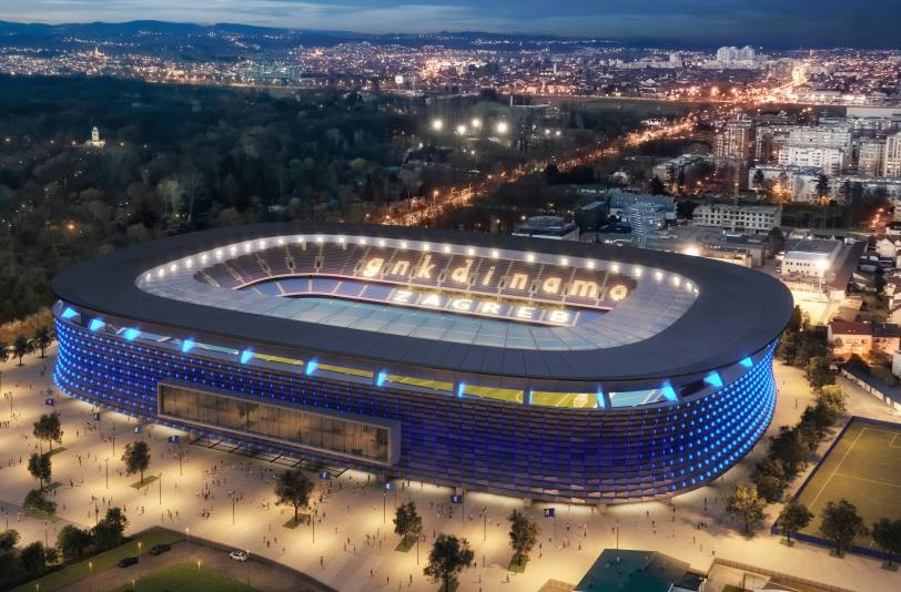 PLAVI NE ŽELE IZ MAKSIMIRA: GNK Dinamo predstavio viziju novog stadiona [FOTO]
