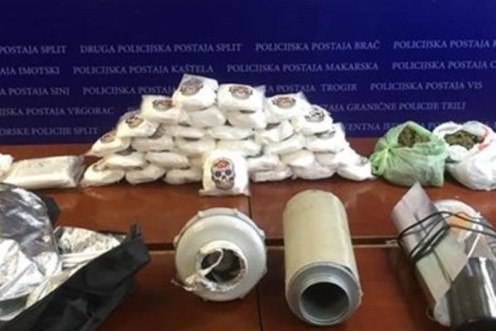 VIDEO: Najveća zapljena amfetamina u Hrvatskoj do sada, uhićen 30-godišnjak